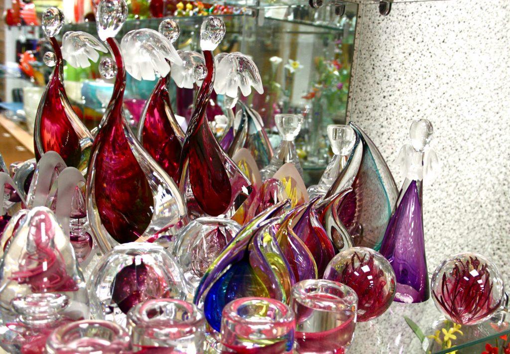 Stiklinės statulėlės