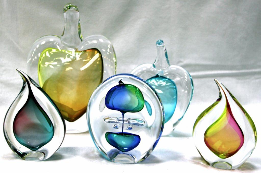 Dekoro elementai iš stiklo